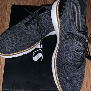 New Mesh Oxfords charcoal shoes for men 8.5
